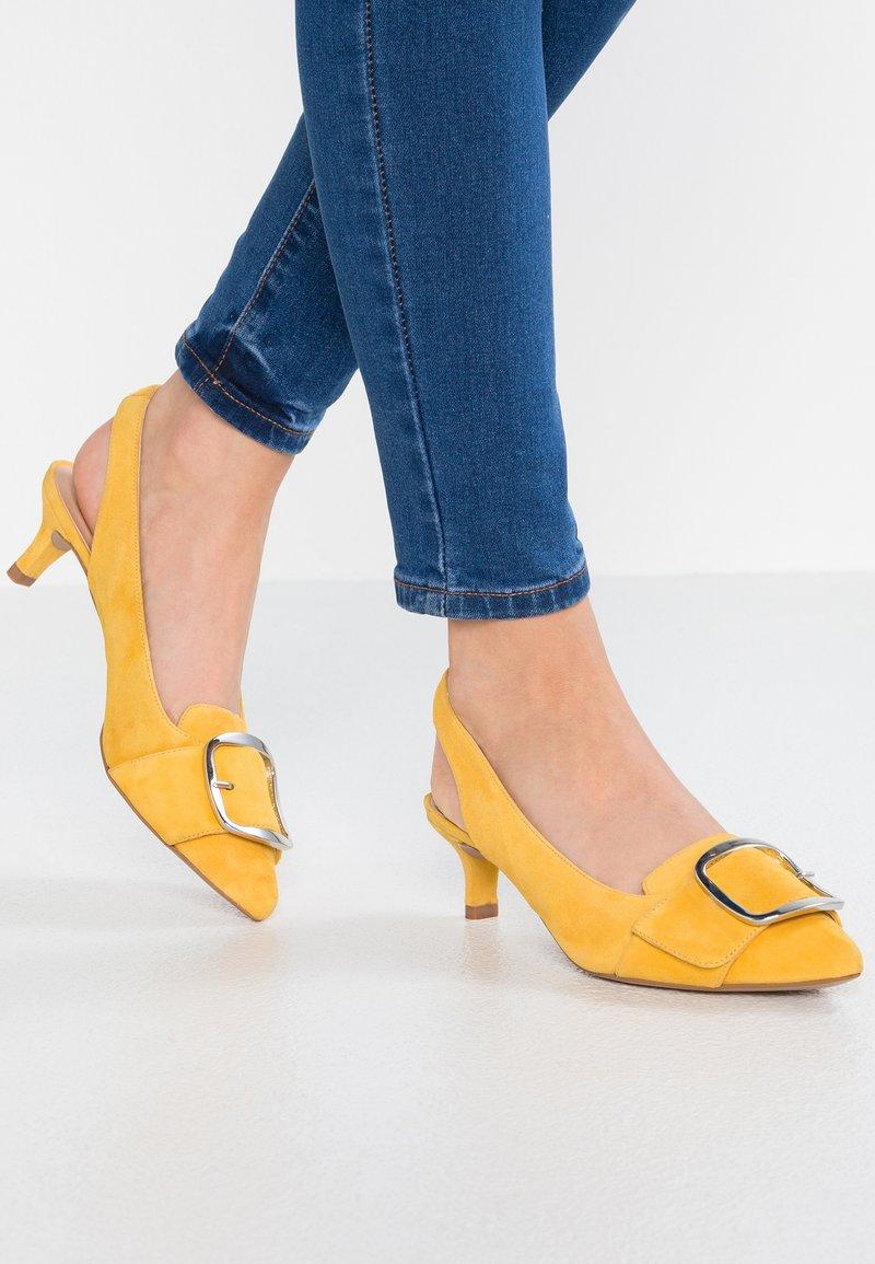 Unisa - JALIS - Classic heels - yellow