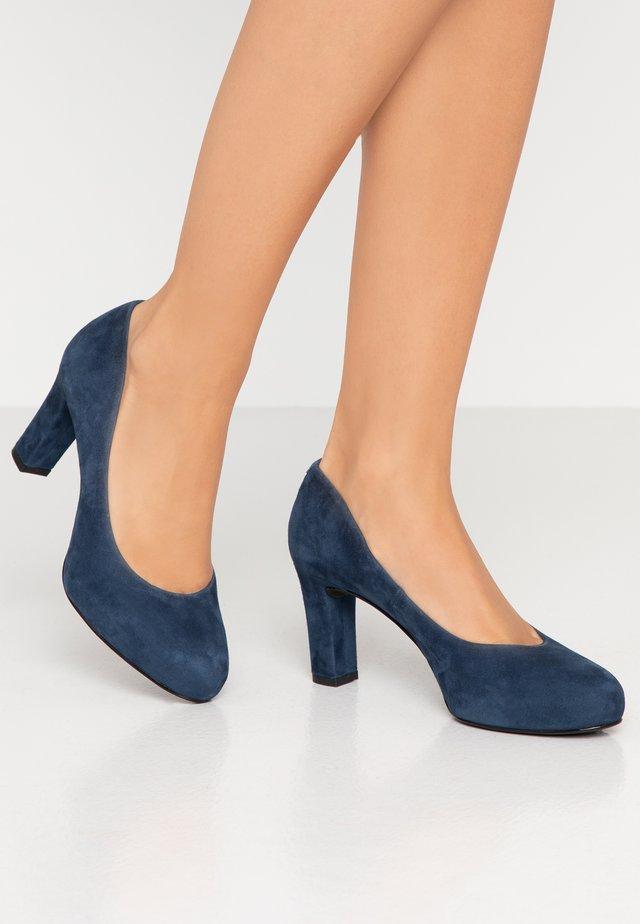NUMIS CLASSIC - Plateaupumps - jeans