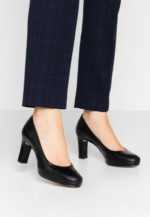 NUMAR - Platform heels - black