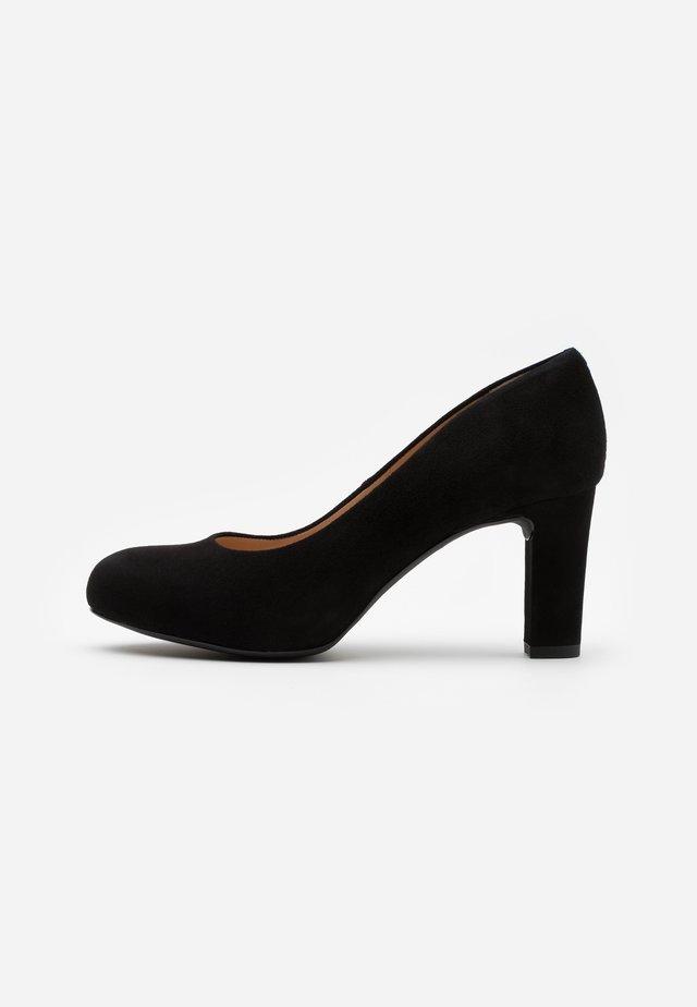 NUMIS - Platform heels - black