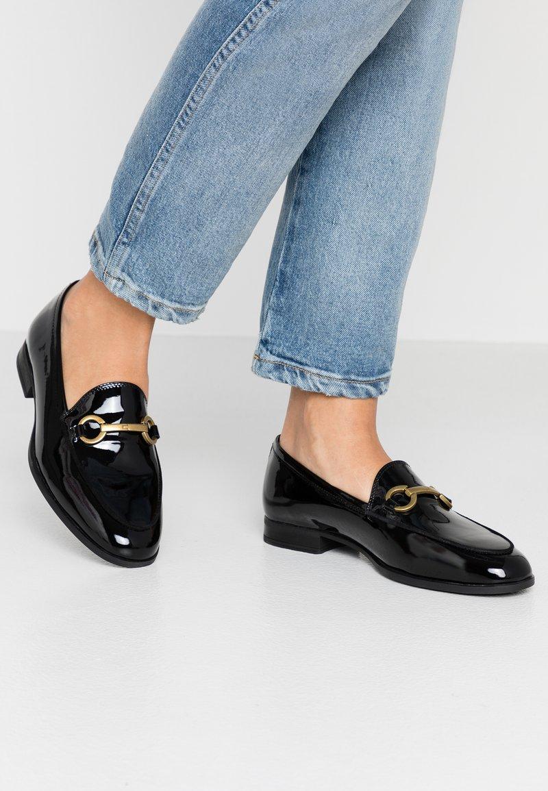 Unisa - DAIMIEL - Slippers - black