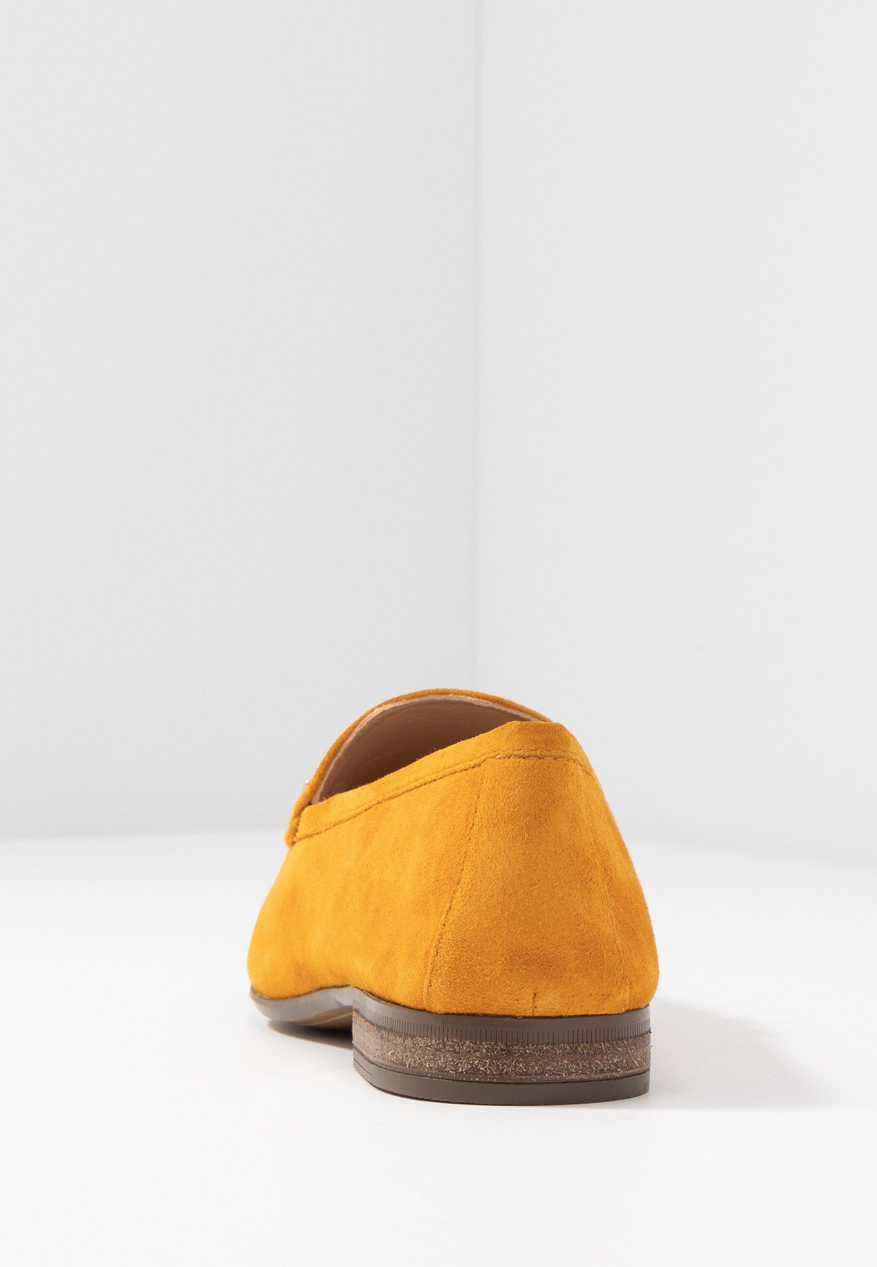 Unisa DALCY - Półbuty wsuwane - mustard