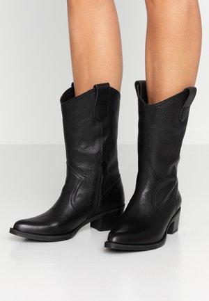 GLADIS - Cowboy/Biker boots - black