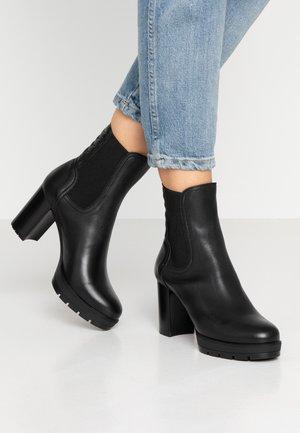 KELMER - Kotníkové boty na platformě - black