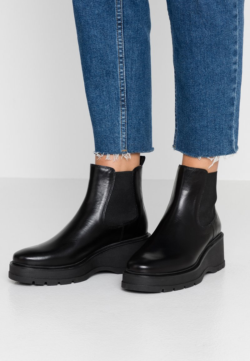 Unisa - GOFRE - Ankle Boot - black