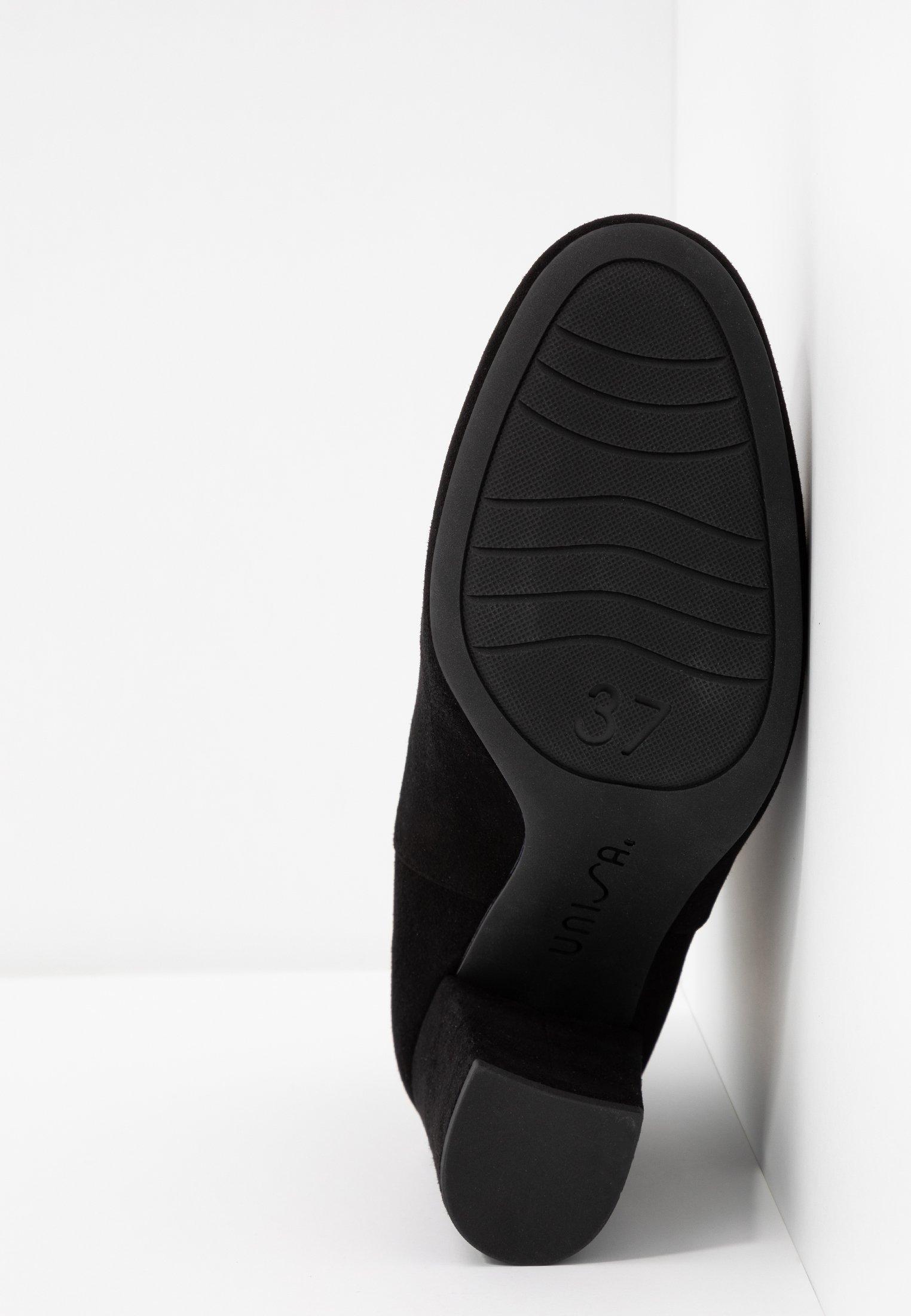 Unisa OSBORN - Bottines à talons hauts black