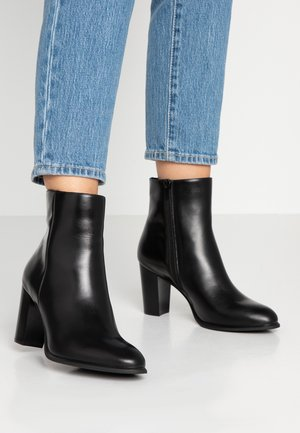 UGO - High heeled ankle boots - black