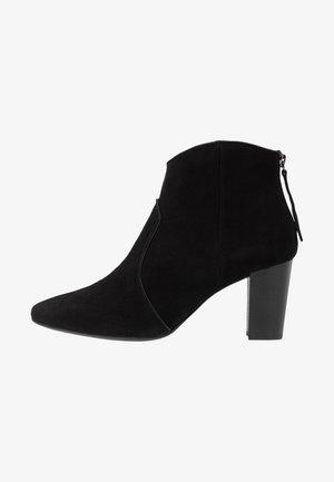 NARELA - Ankelstøvler - black