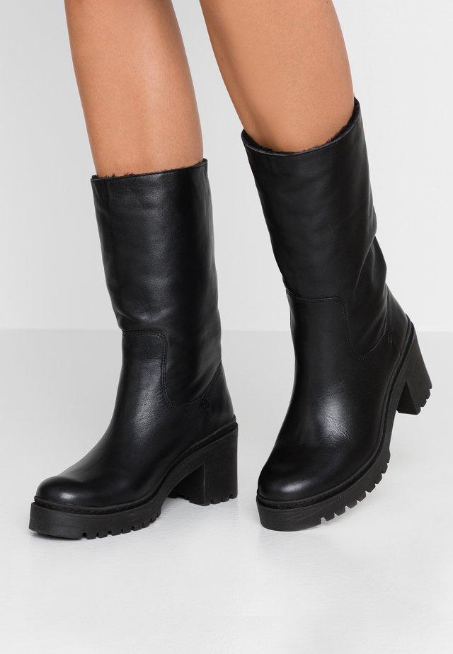 JIMENO - Platåstøvler - black