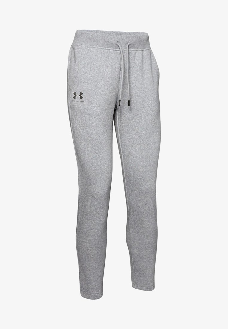 Under Armour - RIVAL  - Tracksuit bottoms - dark grey