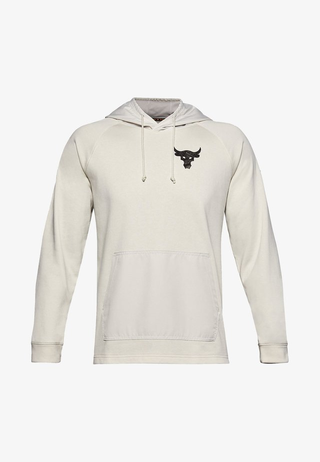 UA PROJECT ROCK - Hoodie - summit white
