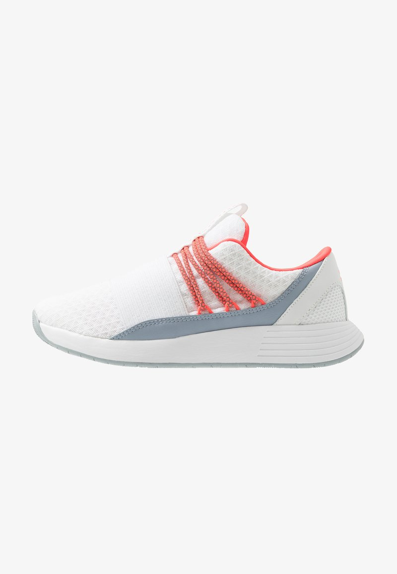Under Armour - BREATHE LACE - Sportovní boty - white/blue heights/beta red