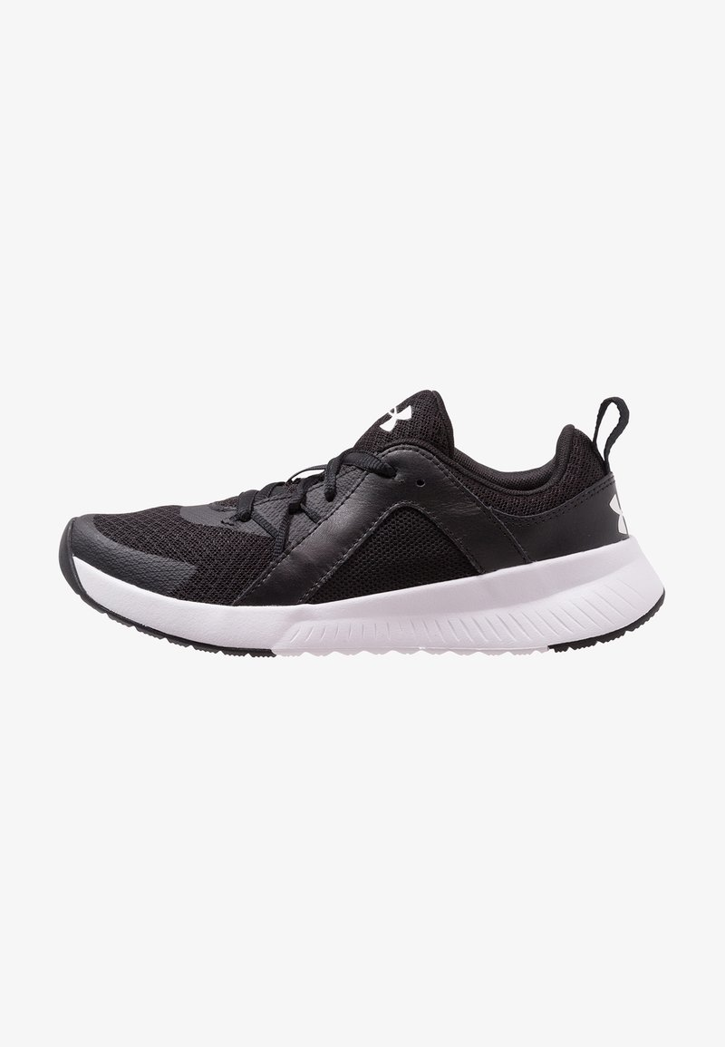 Under Armour - TEMPO TRAINER - Treningssko - black/white