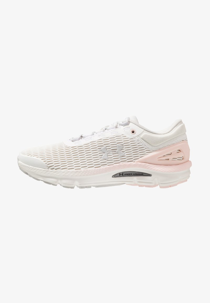 Under Armour - CHARGED INTAKE  - Neutral running shoes - onyx white/orange dream/gray flux