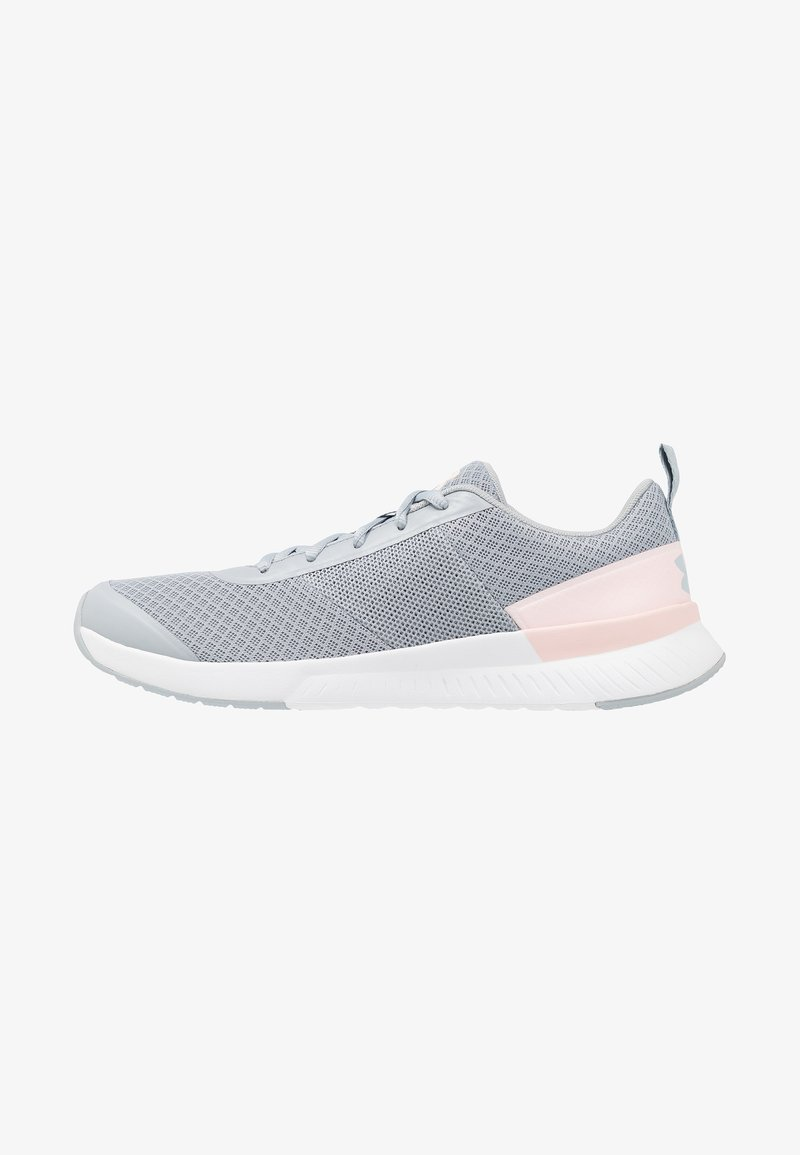 Under Armour - AURA TRAINER - Trainings-/Fitnessschuh - mod gray/orange dream
