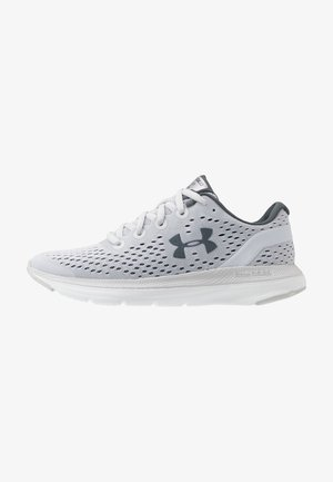 CHARGED IMPULSE - Neutral running shoes - halo gray/white/pitch gray