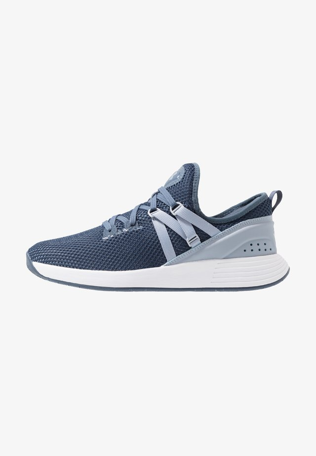 BREATHE TRAINER X NM - Scarpe da fitness - downpour gray/white/blue heights