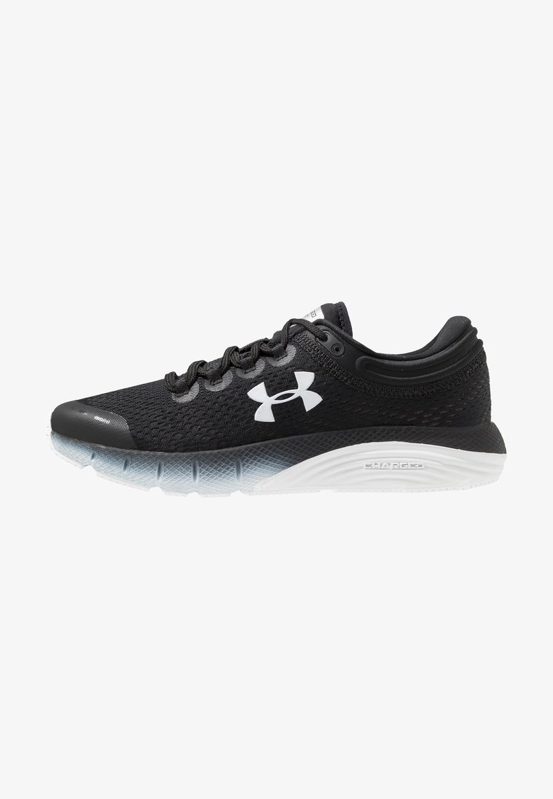 Under Armour - CHARGED BANDIT 5 - Neutral running shoes - black/white