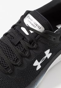 Under Armour - CHARGED BANDIT 5 - Neutral running shoes - black/white - 5