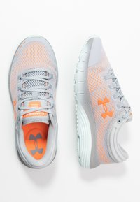 Under Armour - CHARGED BANDIT 5 - Obuwie do biegania treningowe - mod gray/rift blue/orange spark - 1