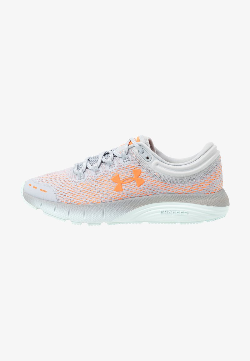 Under Armour - CHARGED BANDIT 5 - Obuwie do biegania treningowe - mod gray/rift blue/orange spark