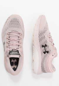 Under Armour - CHARGED BANDIT 5 - Neutral running shoes - dash pink/french gray/jet gray - 1