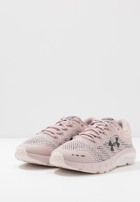 Under Armour - CHARGED BANDIT 5 - Neutral running shoes - dash pink/french gray/jet gray - 2