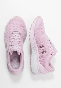 Under Armour - Charged Escape 3 - Gym- & träningskor - pink fog/halo gray - 1