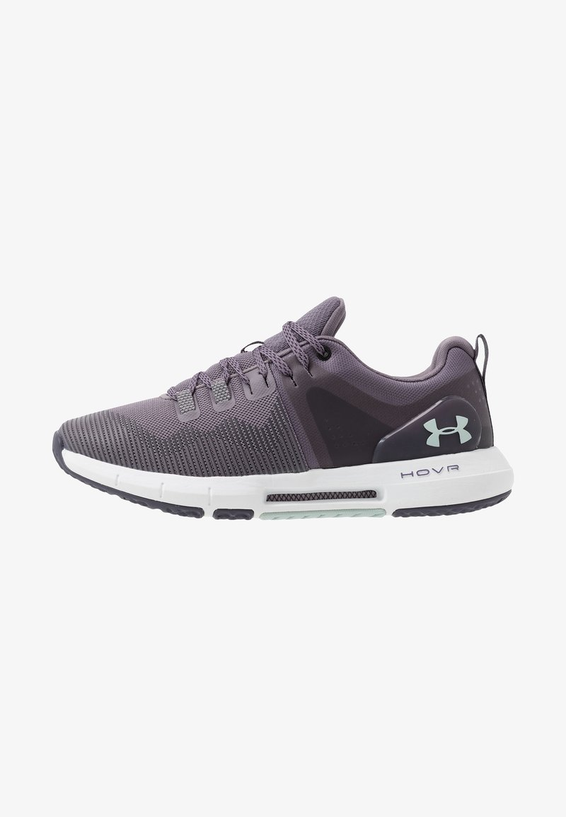 Under Armour - HOVR RISE - Obuwie treningowe - flint/white/green
