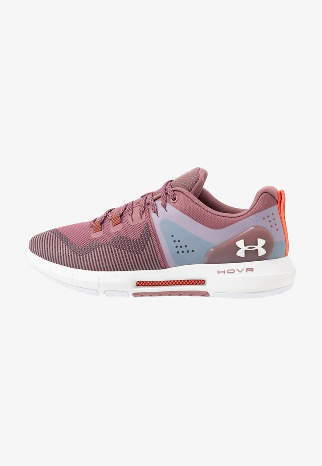 HOVR RISE - Scarpe da fitness - hushed pink/white