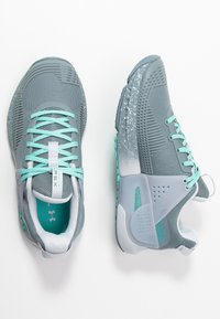 Under Armour - HOVR APEX - Scarpe da fitness - hushed turquoise/radial turquoise - 1