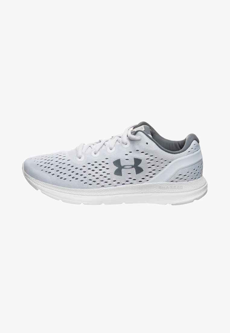 Under Armour - Neutral running shoes - light grey