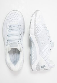 Under Armour - HOVR GUARDIAN 2 - Scarpe running neutre - white/mod gray/halo gray - 1