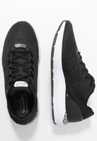 Under Armour - Neutral running shoes - black/white/jet gray - 1
