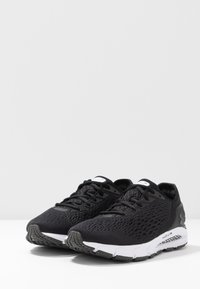 Under Armour - Neutral running shoes - black/white/jet gray - 2