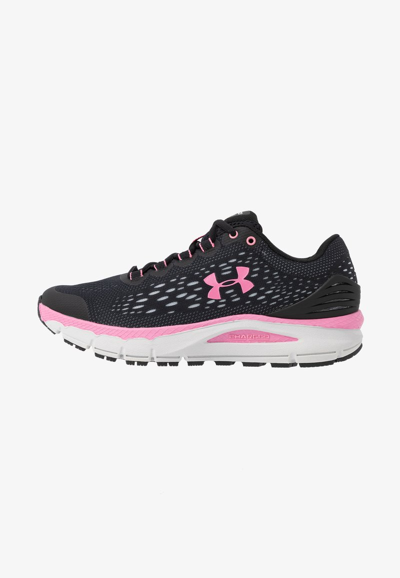 Under Armour - CHARGED INTAKE 4 - Neutral running shoes - black/halo gray/lipstick