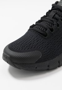 Under Armour - UA W CHARGED ROGUE 2-BLK - Neutral running shoes - black - 5