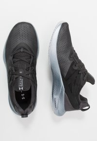 Under Armour - CHARGED BREATHE TR 2 - Sports shoes - jet gray/halo gray - 1
