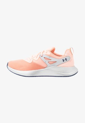 CHARGED BREATHE TR 2 - Sports shoes - peach frost/halo gray/blue ink