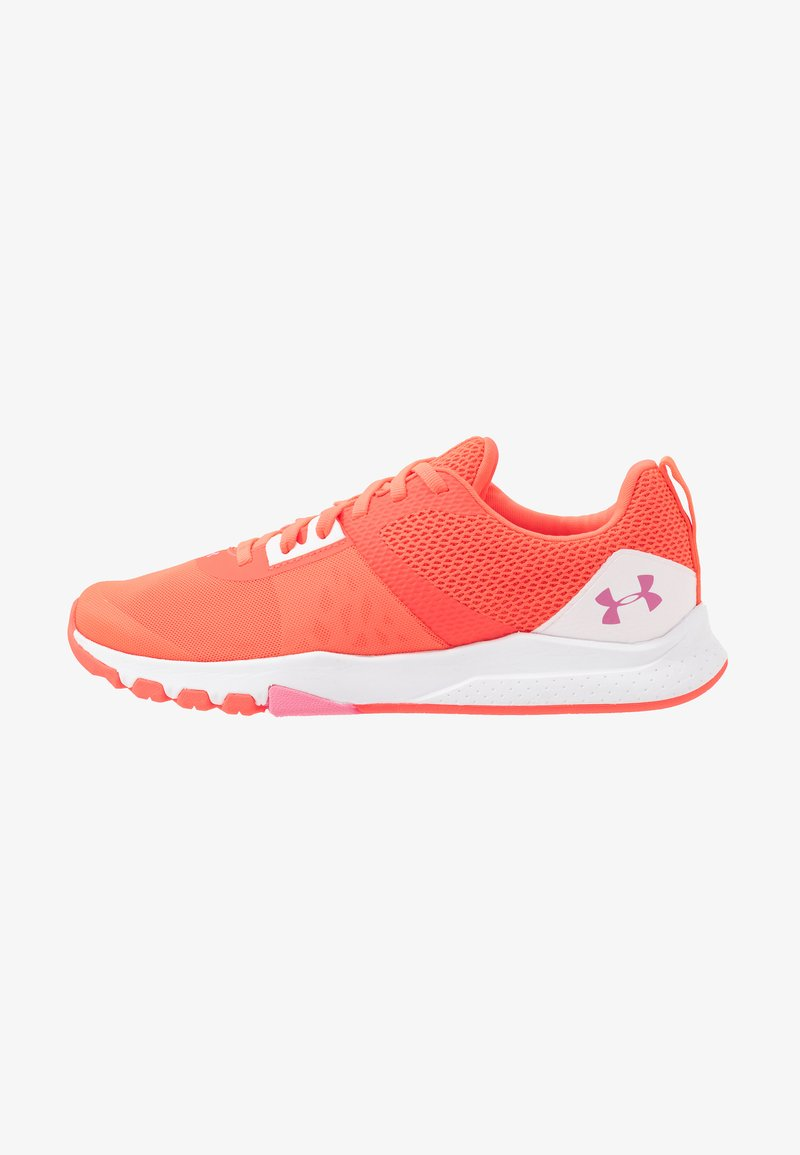 Under Armour - TRIBASE EDGE TRAINER - Sports shoes - beta/halo gray/lipstick