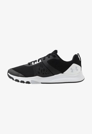 TRIBASE EDGE TRAINER - Scarpe da fitness - black/white/halo gray