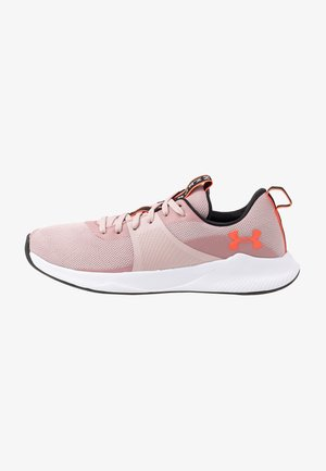 CHARGED AURORA - Sports shoes - dash pink/white/beta