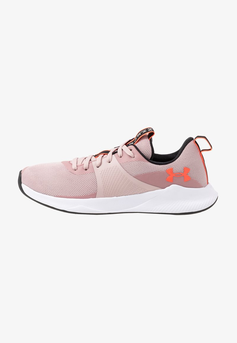Under Armour - CHARGED AURORA - Sports shoes - dash pink/white/beta