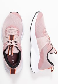 Under Armour - CHARGED AURORA - Sports shoes - dash pink/white/beta - 1