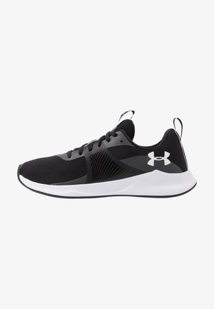 CHARGED AURORA - Sports shoes - black/white