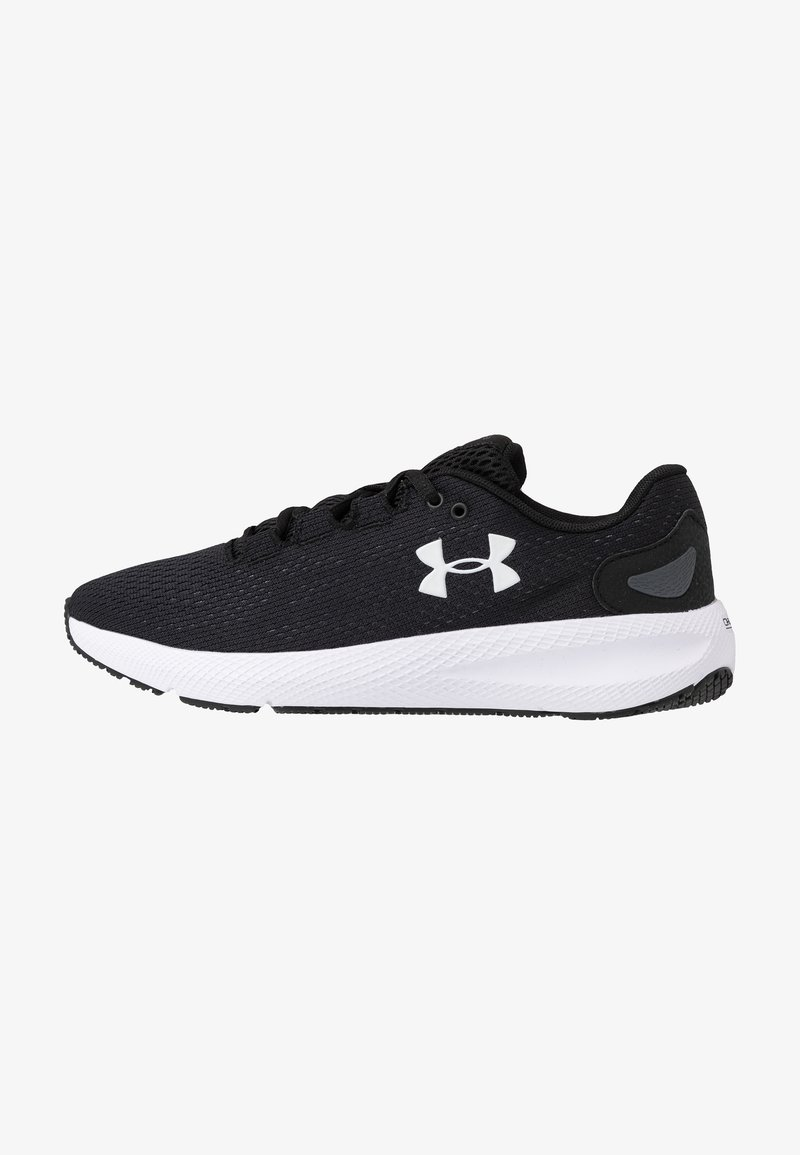 Under Armour - CHARGED PURSUIT 2 - Scarpe running neutre - black/white