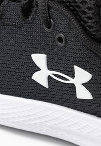 Under Armour - CHARGED PURSUIT 2 - Scarpe running neutre - black/white - 5