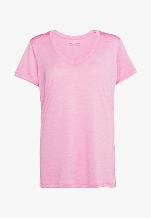 TECH TWIST - T-shirt basic - black currant