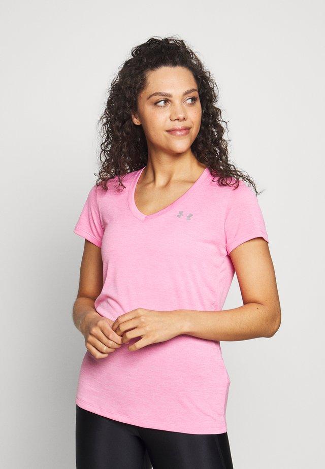 TECH TWIST - Basic T-shirt - black currant