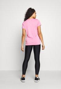 Under Armour - TECH TWIST - T-shirt basic - black currant - 2